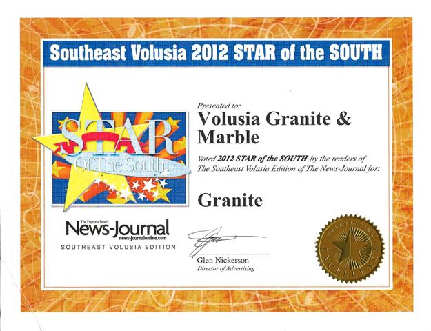 Weu0027ve Won The Daytona Beach News Journal Readeru0027s Choice Award In Two  Different Categories! Kitchen And Bath Remodeler And Granite Fabricator!