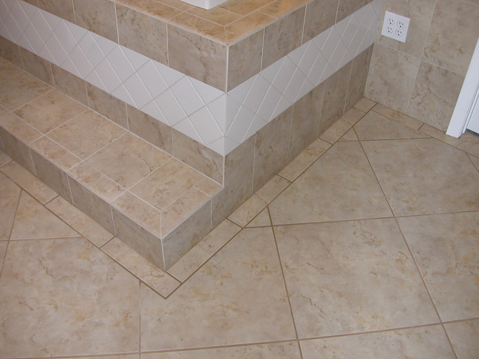 Travertine Kitchen Floor Tiles Southeast Volusia Building And Remodeling Floors Tile Travertine